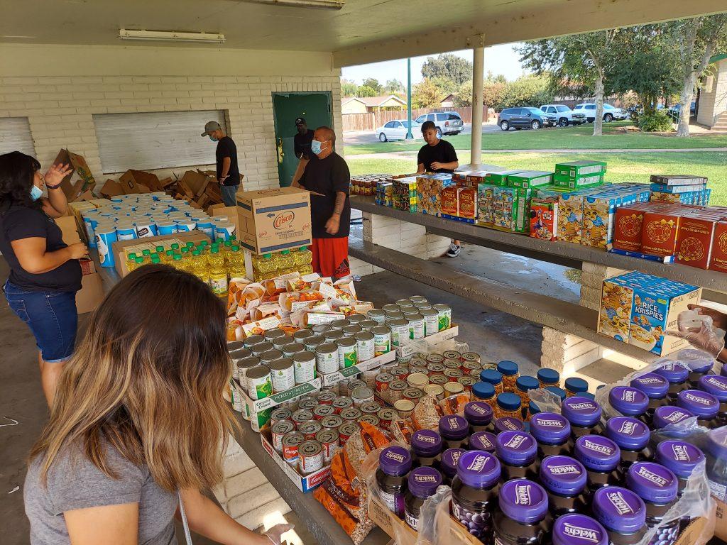 Harvest of Harmony Church Food Drive